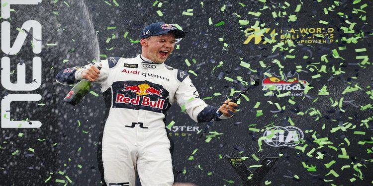 Mattias Ekström se corona campeón del mundo de Rallycross en Estering