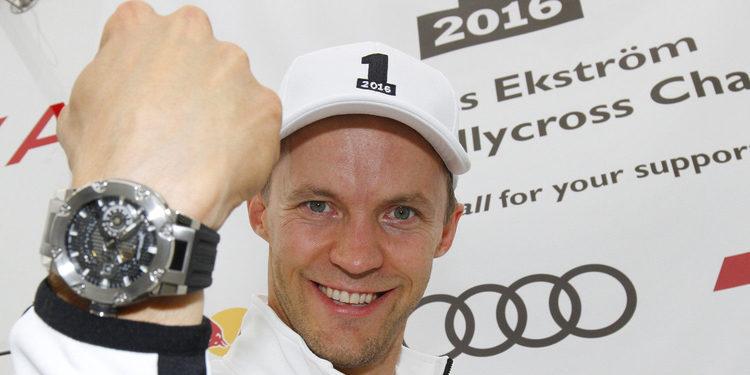"""Mattias Ekström: """"Es el mejor día de toda mi carrera"""""""
