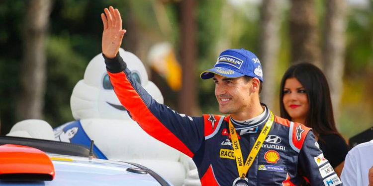"""Dani Sordo: """"Ha sido uno de los mejores rallys de mi vida"""""""