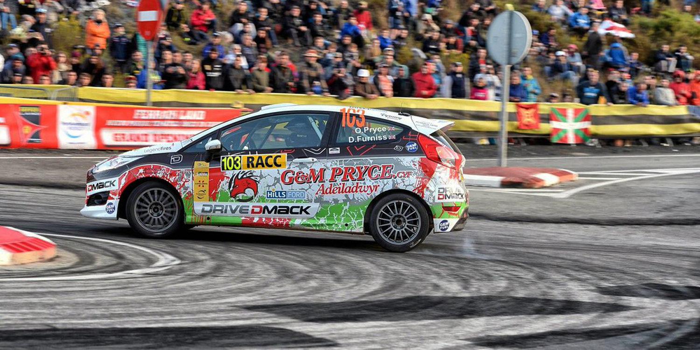Rally de Cataluña: Osian Pryce se erige campeón del Drive DMACK Trophy