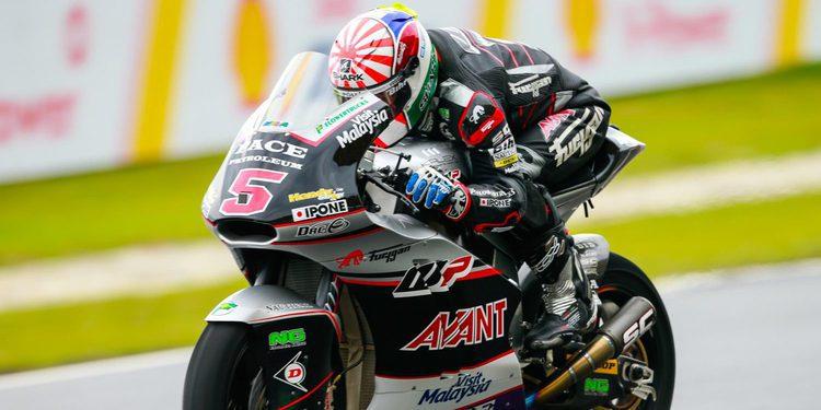 Moto2: Zarco vuela bajo la lluvia en Sepang