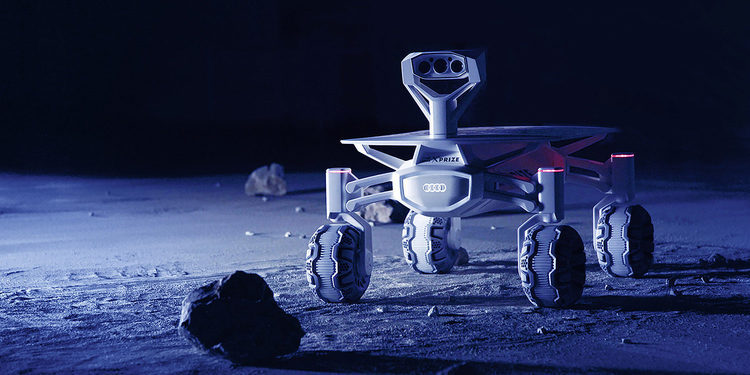 Audi ya tiene listo el lunar quattro, su vehículo para explorar la Luna