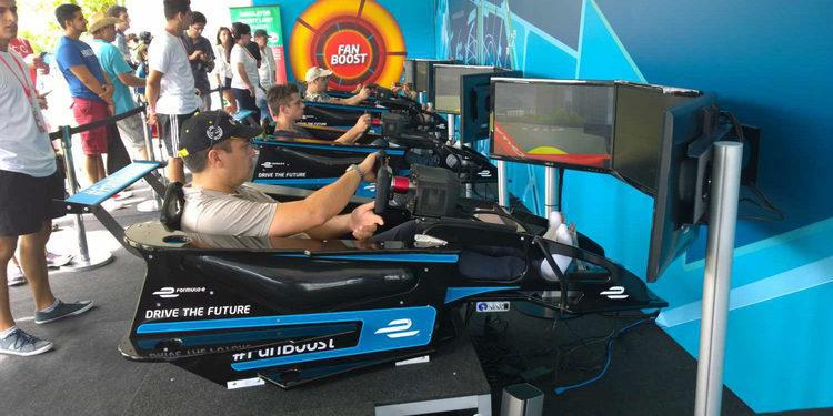 La Fórmula E intenta acercar a los pilotos a la gente
