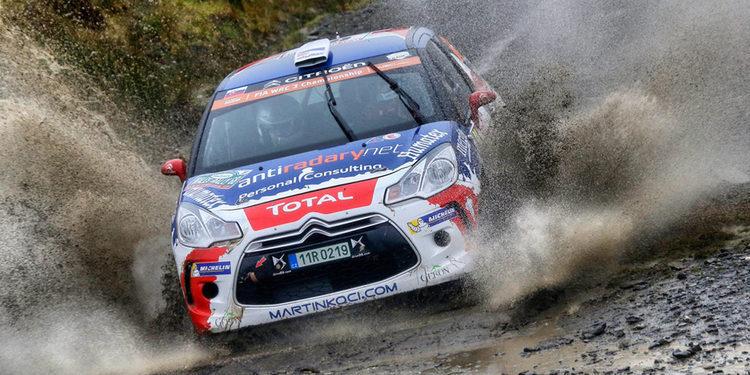 Martin Koci triunfa en Gales y Simone Tempestini es campeón del WRC 3