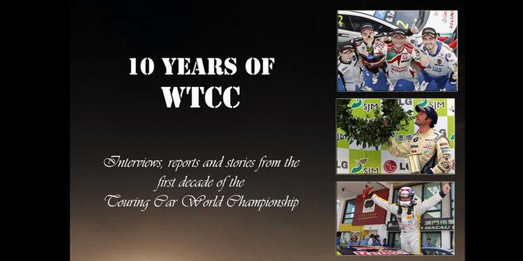 '10 años de WTCC', un libro para recordar con fines caritativos