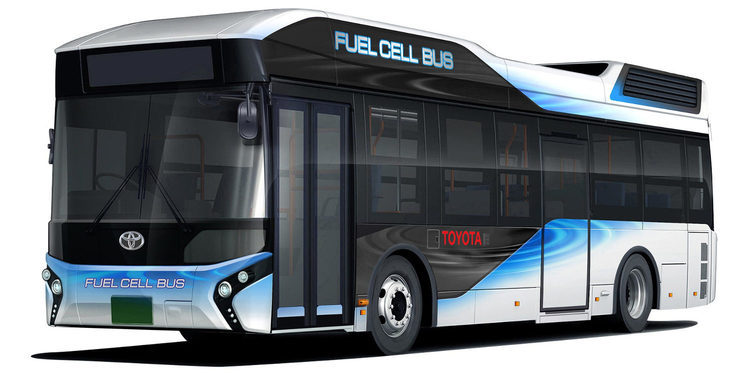 Fuel Cell Bus de Toyota, otra alternativa no contaminante