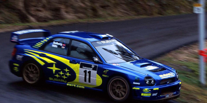 A la venta el Subaru Impreza WRC de Petter Solberg