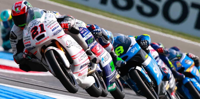 La parrilla de Moto3 en 2017