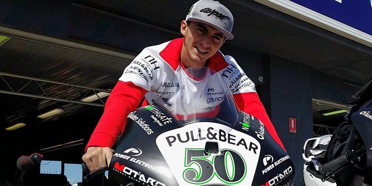 Moto3:  Pecco Bagnaia probará la Desmosedici GP14