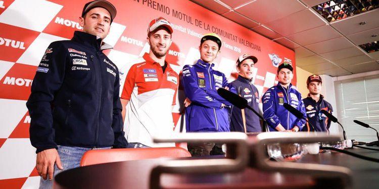 Rueda de prensa previa al GP de la Comunitat Valenciana
