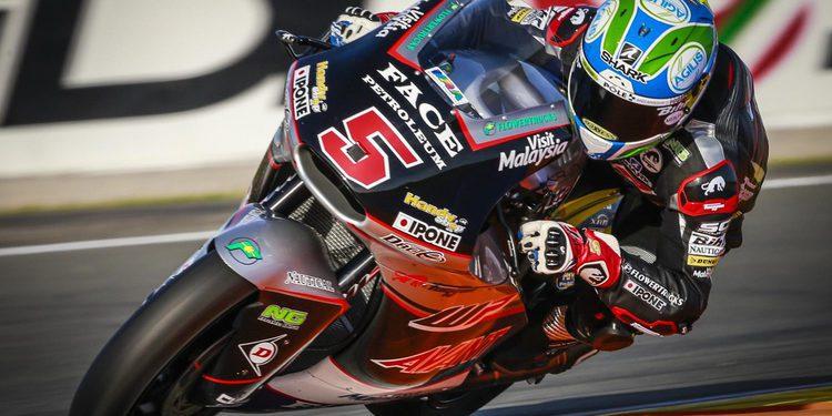Moto2: Johann Zarco rompe el récord del trazado valenciano