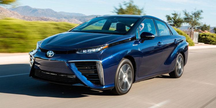 Toyota Mirai, con motor de hidrógeno