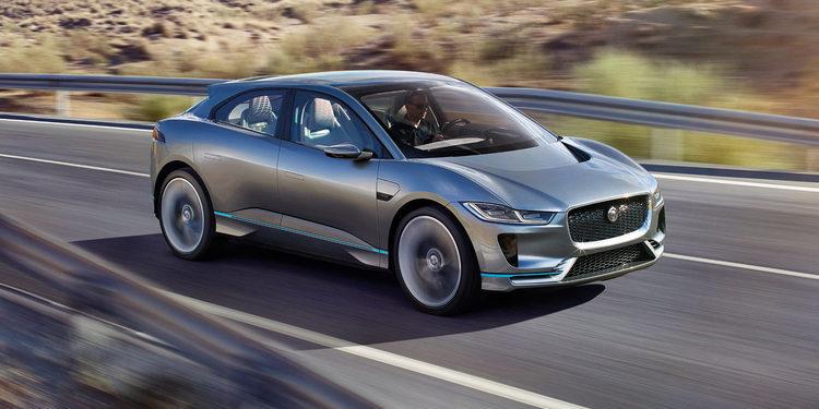 Jaguar sorprende con el I-Pace Concept, el SUV totalmente eléctrico