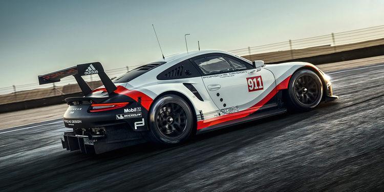 Porsche presenta el nuevo 911 RSR para Le Mans
