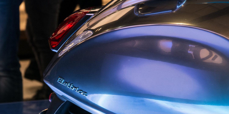 Nueva Vespa Eléctrica 2017