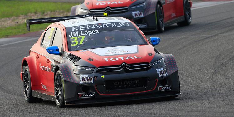 Citroën Racing quiere despedirse del WTCC por todo lo alto