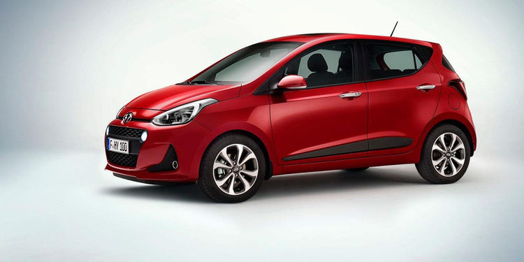 Hyundai presentó el nuevo i10