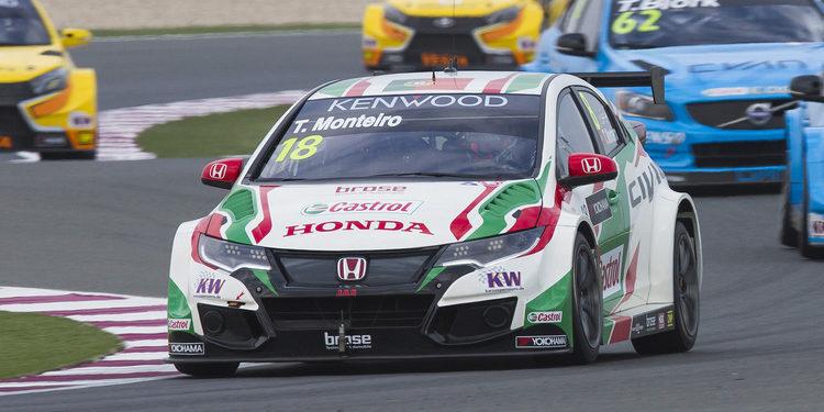 Tiago Monteiro y los Honda vuelan en los segundos libres