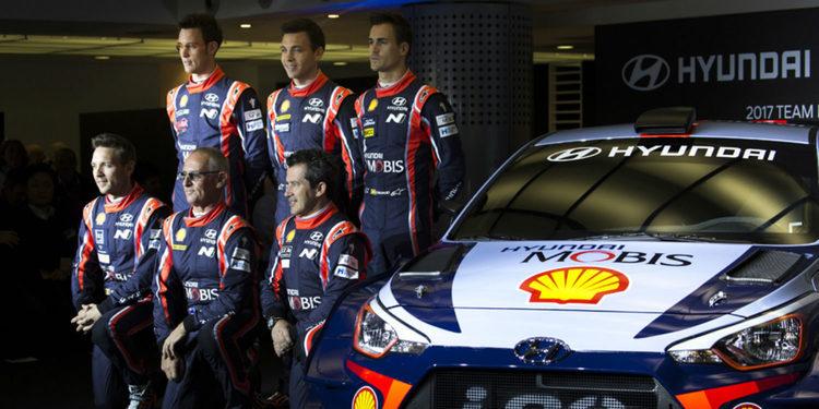 Hyundai presenta el espectacular i20 Coupé WRC