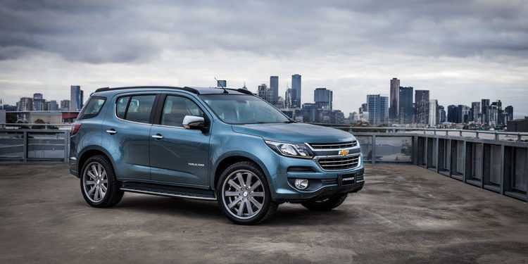 Chevrolet te presenta la renovada Trailblazer 2017