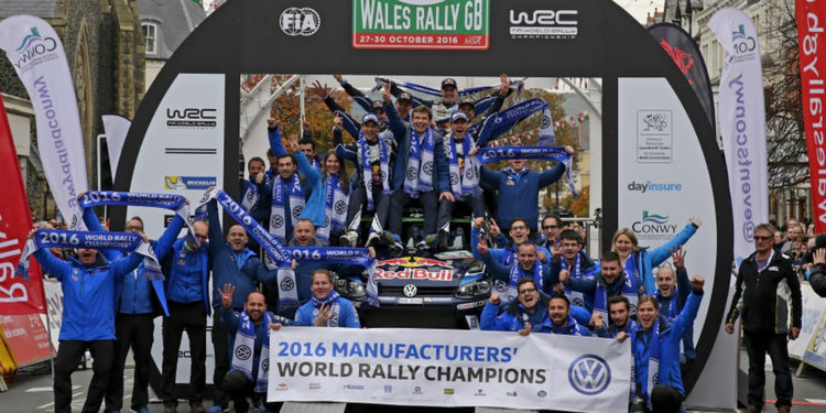 Los espectaculares números de Volkswagen en el WRC