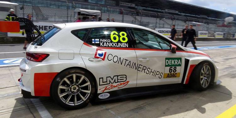 Niko Kankkunen se foguea en las TCR con un SEAT León