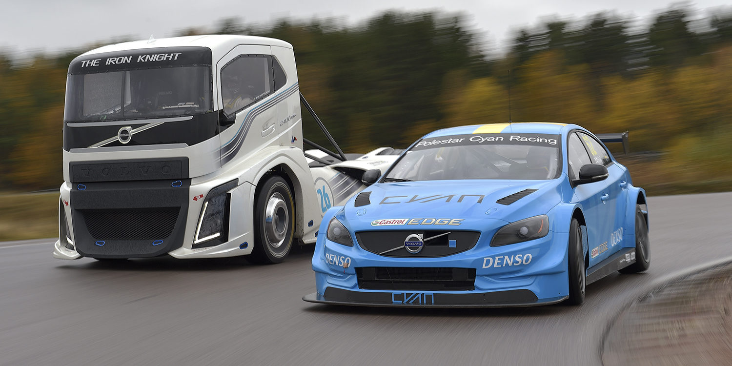 Video: Volvo S60 TC1 vs Iron Knight