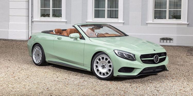 Enamórate del Mercedes Clase S Diospyros, lujo inconfundible