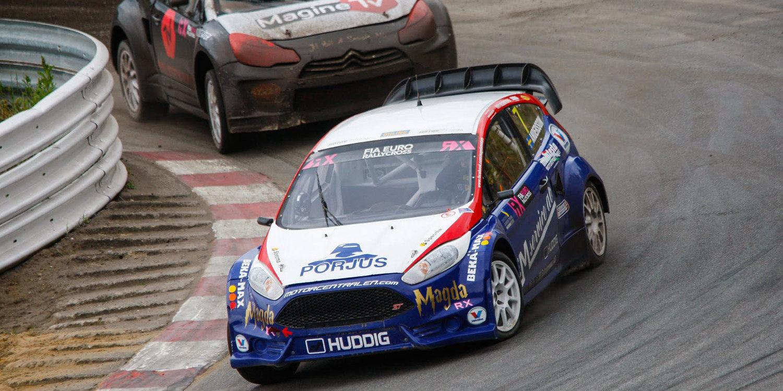 Magda Andersson, a Volkswagen con Marklund Motorsport