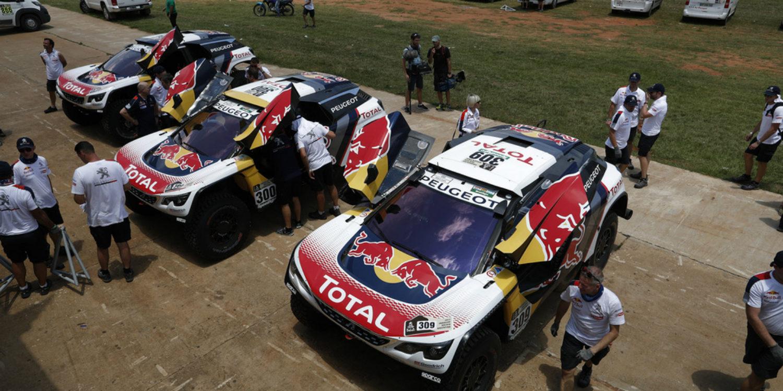 Coches   Equipos Dakar 2017: lucha a tres bandas