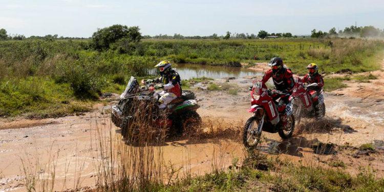 Medeiros vuela sobre Paraguay