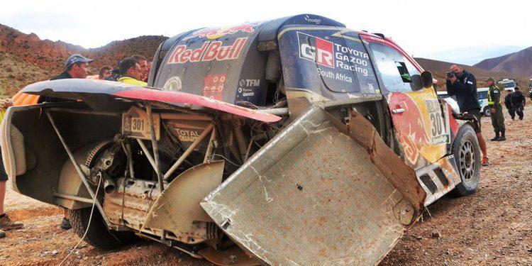 """Al-Attiyah dice adiós a la victoria en el Dakar: """"Se nos acabó la partida"""""""