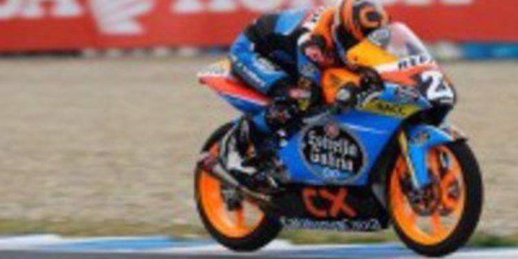 Alex Márquez manda en la clasificación de Moto3 en Navarra