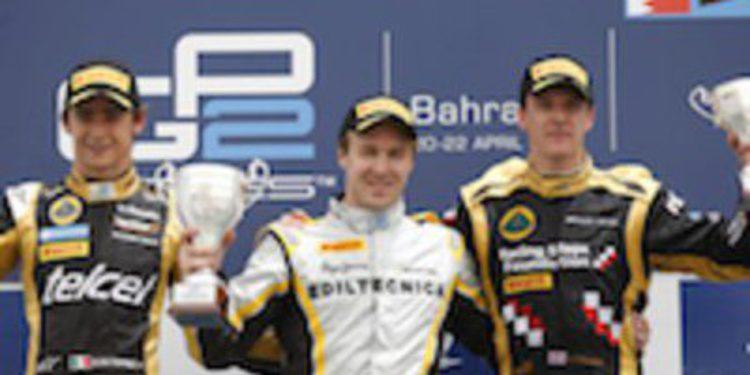 Valsecchi hace doblete en Baréin y es todavía más líder de GP2
