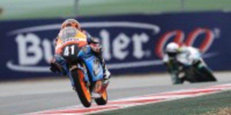 Alex Márquez domina de principio a fin la carrera de Moto3 en Navarra