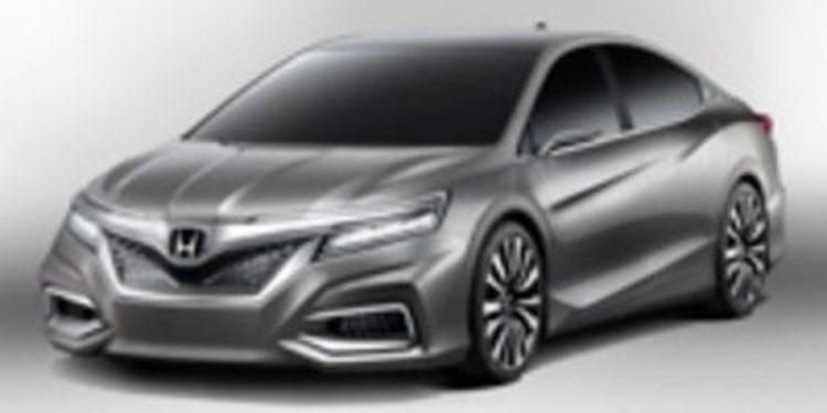 Honda Concept C, una berlina muy vivaz orientada al mercado chino
