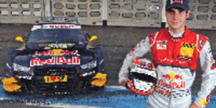 Miguel Molina listo para el debut del Audi A5