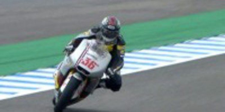 Mika Kalio se anota el mejor tiempo en los FP2 de Moto2