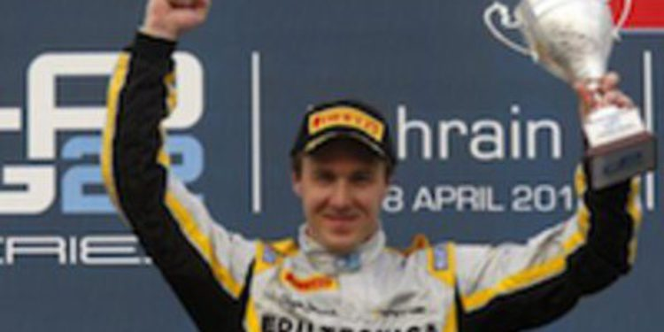 Davide Valsecchi consigue la tercera victoria de la temporada de nuevo en Baréin