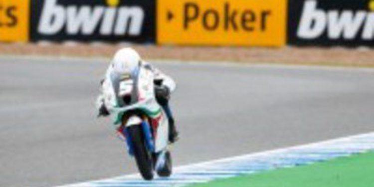 Romano Fenati gana la carrera de los supervivientes en el GP de España