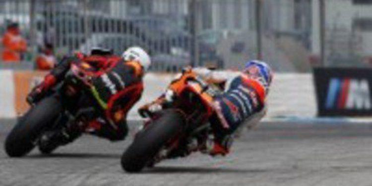 Viñales, Márquez y Pedrosa dominan los FP3 en Estoril