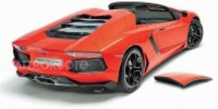 Techo removible y tracción trasera para el Lamborghini Aventador