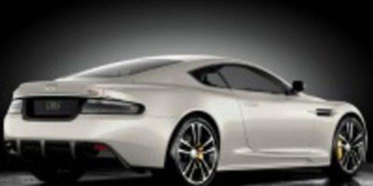Un look de carbón para el DBS de Aston Martin