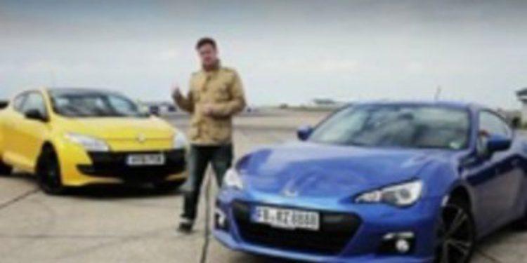 EVO enfrenta al Subaru BRZ con el Megane RS 265