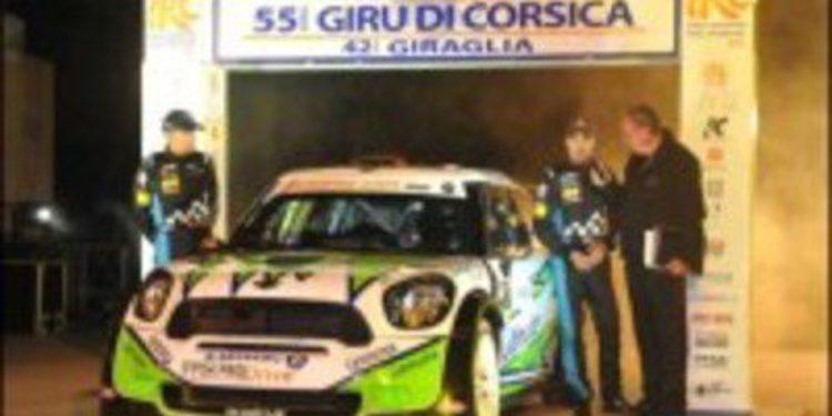 Solo Andreas Mikkelsen puede con Dani Sordo en la 1ª etapa de Córcega