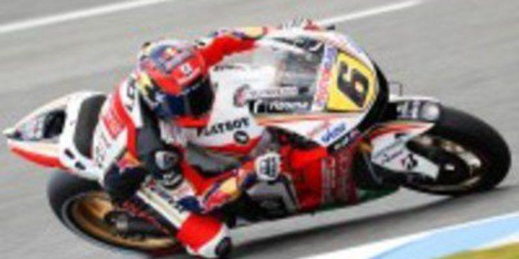 Stefan Bradl renueva el optimismo del equipo LCR Honda