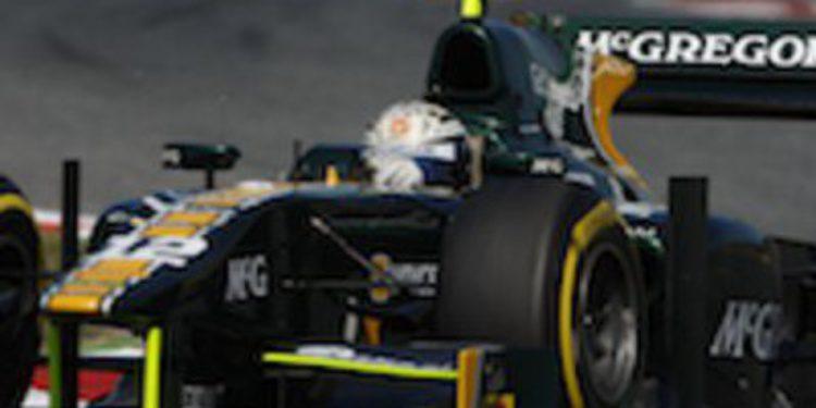 Giedo van der Garde gana en la primera cita europea de la GP2