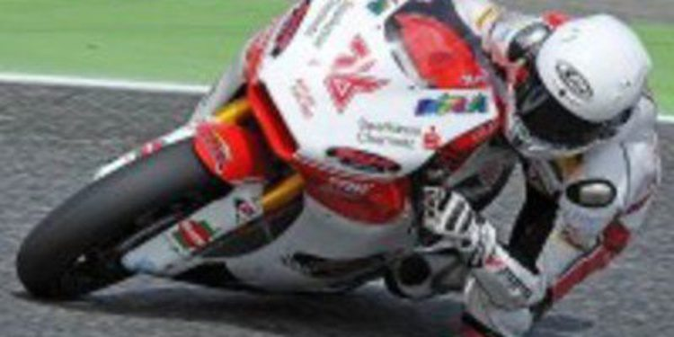 Max Neukirchner llega tocado a Le Mans