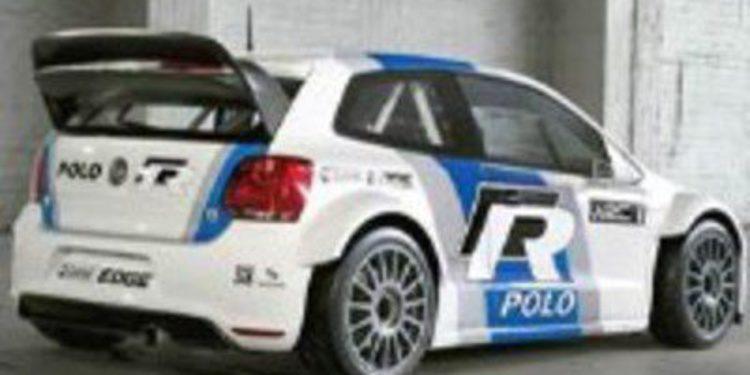 Volkswagen prueba de nuevo el Polo R WRC sobre asfalto en Alicante