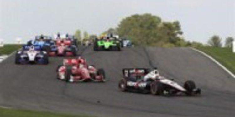 La IndyCar recuperará las salidas en parado en circuitos ruteros